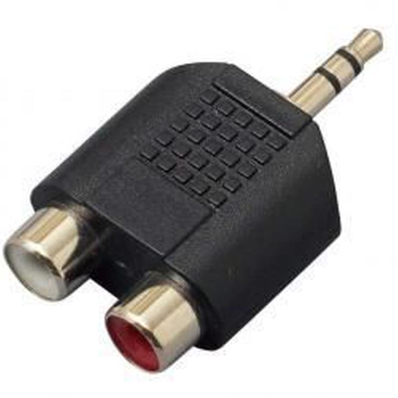 KC / CC310 RCA(F)X2/StMini(M) - 変換コネクター