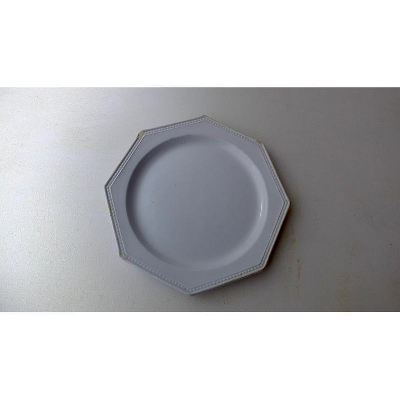 Montereau Octagonal Plate (19th c,France)