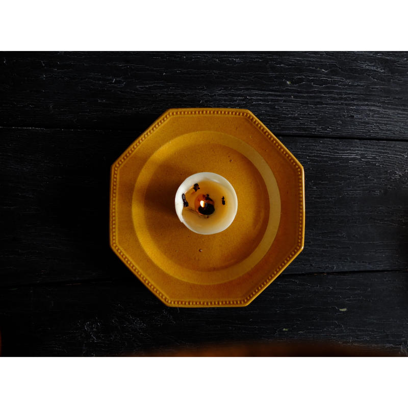 フランス製 ピション窯 オクトゴナル・プレート(A)