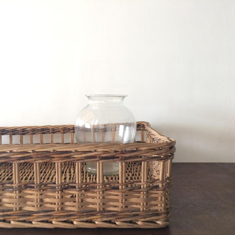 昭和初期 日本製 籠箱