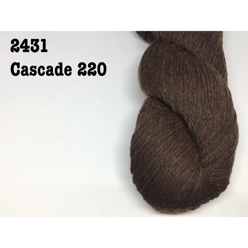 [Cascade] Cascade 220 - 2431(Chocolate Heather)