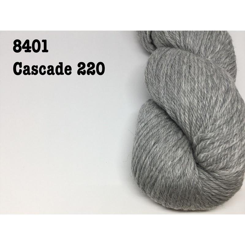 [Cascade] Cascade 220 - 8401(Silver Grey)