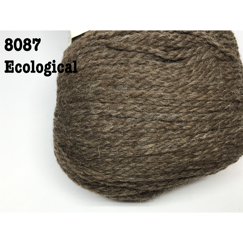 [Cascade] Ecological Wool - 8087(Chocolate)