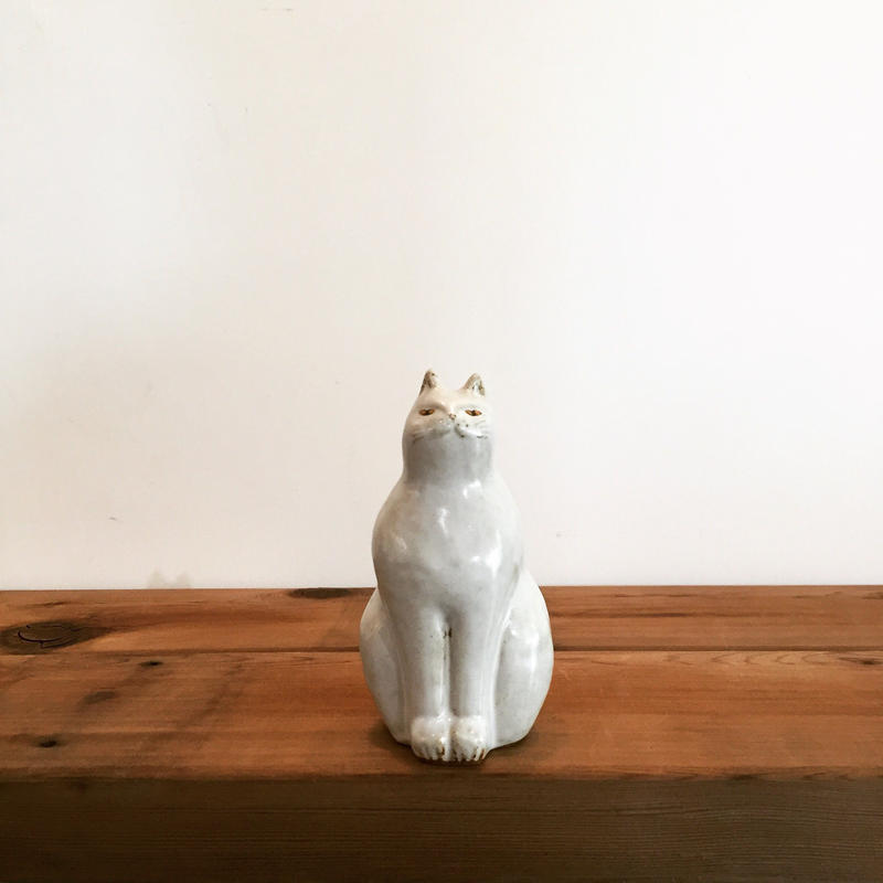 《sen》動物シリーズ・猫のオブジェ