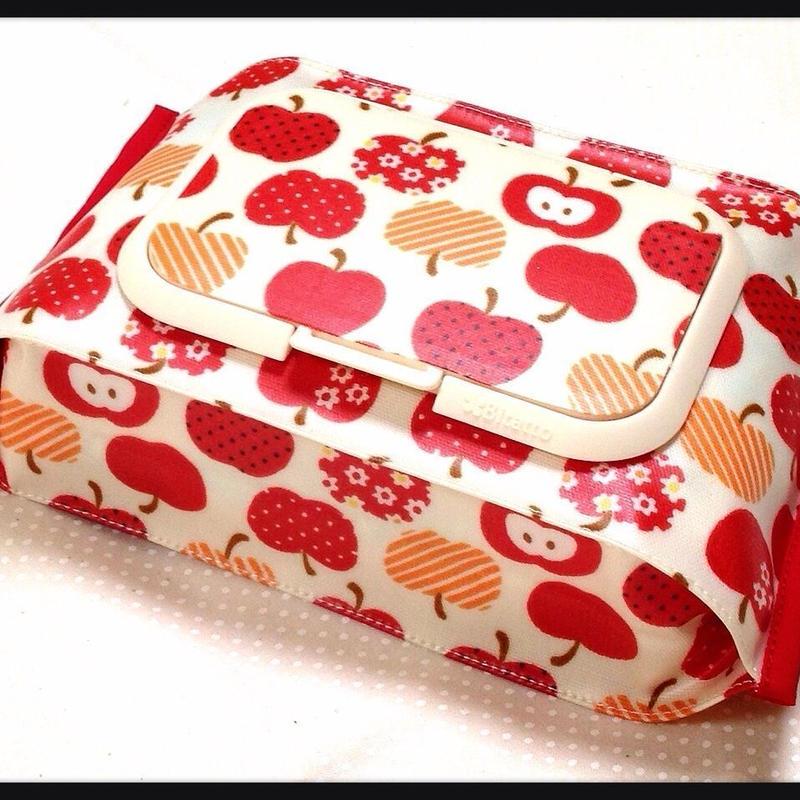 おしりふきケース*赤りんご