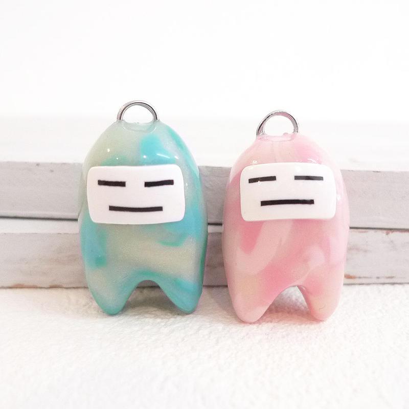 アクアマリン色 「水宝丸」/  モルガナイト色 「モルガン」