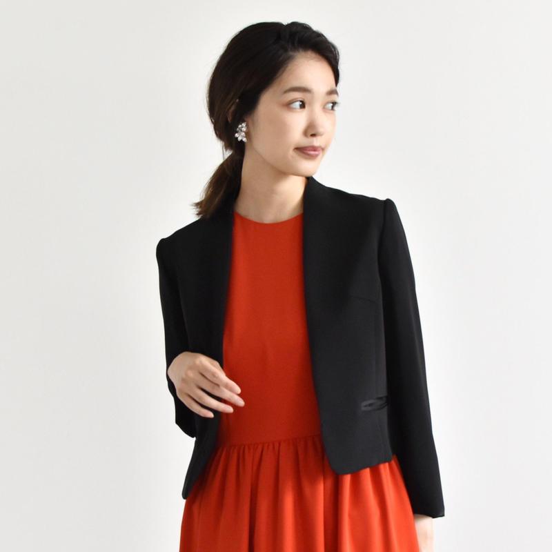 005223 / ノーカラー 袖2wayジャケット