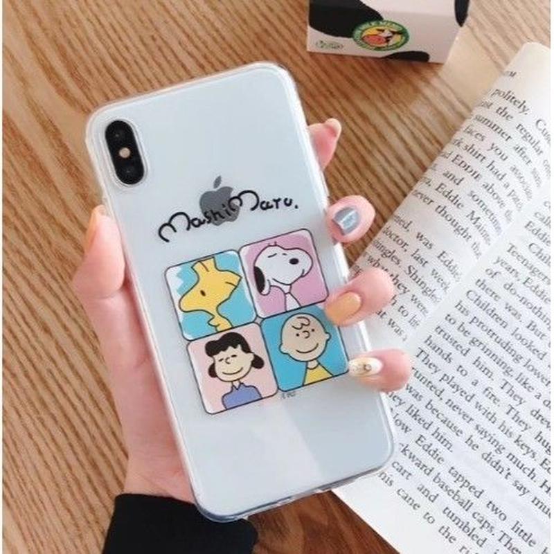 輸入雑貨 スヌーピー ユニークタッチ snoopy iphone XR XsMAX 最大種類 iphone 8 7 6 6 s-plus