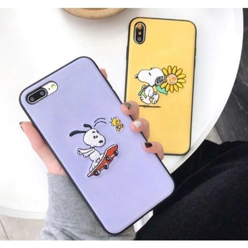 輸入雑貨 スヌーピー snoopy ケータイカバー  iphone XR XsMAX 最大種類 iphone 8 7 6 6 s-plus SKYヒマワリ