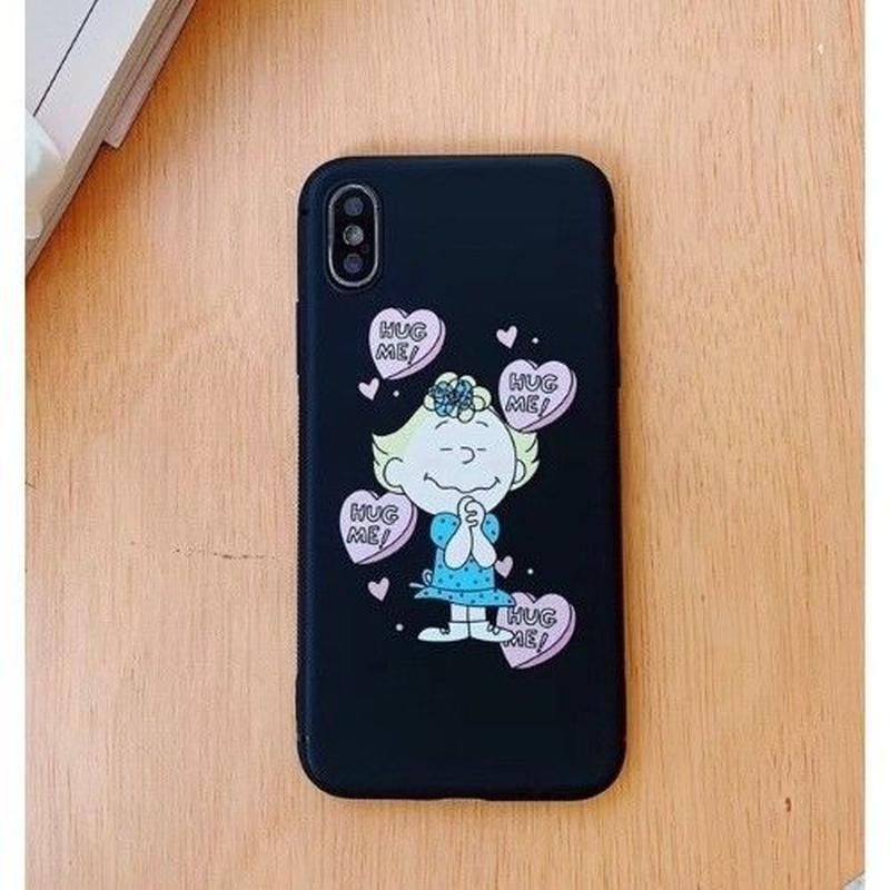 輸入雑貨 スヌーピー ケータイケース snoopy ケータイカバー  iphone XR XsMAX 最大種類 iphone 8 7 6 6 s-plus HUG ME 2