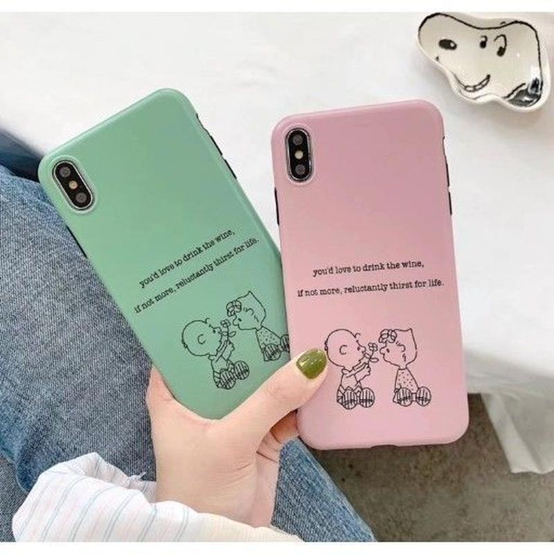 輸入雑貨 スヌーピー 仲良しBrother snoopy iphone XR XsMAX ケース 最大種類 iphone 8 7 6 6 s-plus