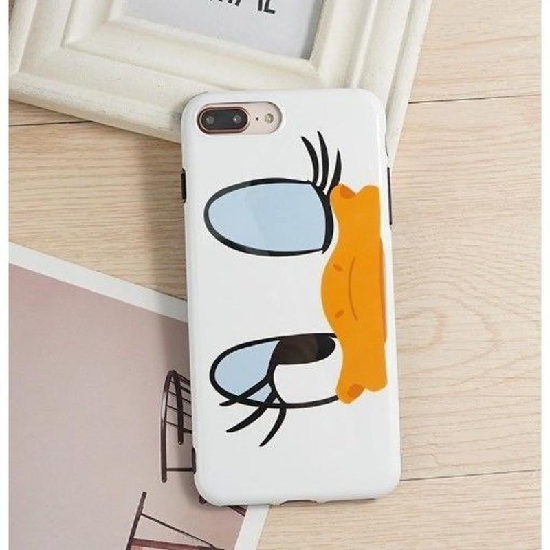 輸入雑貨 ドナルド デイジー ディズニー ケータイカバー  iphone X 最大種類 iphone 8 7 6 6 s-plus カップル デイジー2