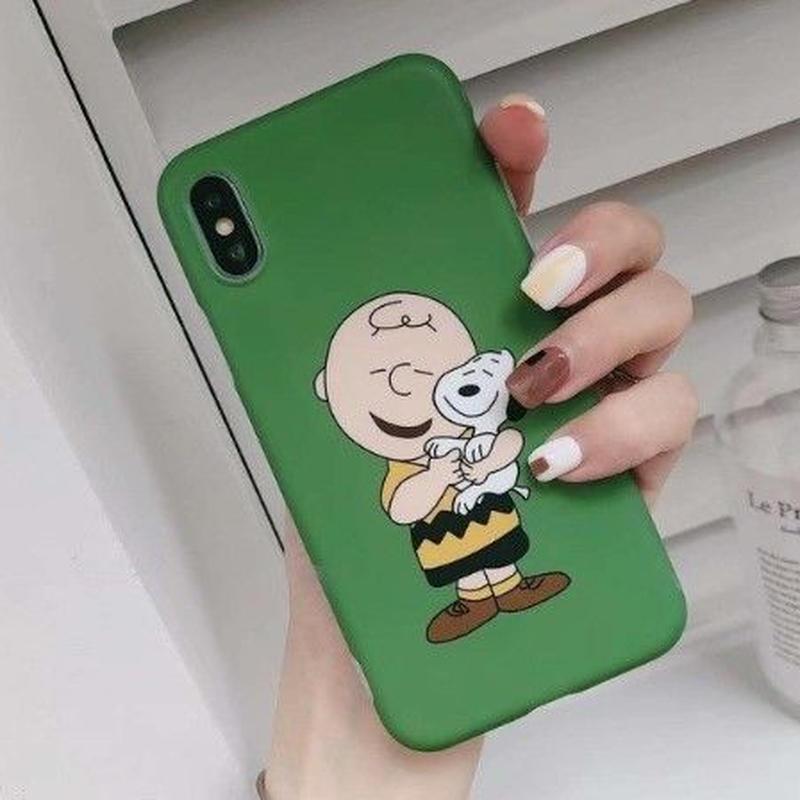 チャーリーブラウン 輸入雑貨 スヌーピー ケータイケース Snoopy ケータイカバー  iphone X Xs ケース 最大種類 iphone 8 7 6 6 s-plus 1
