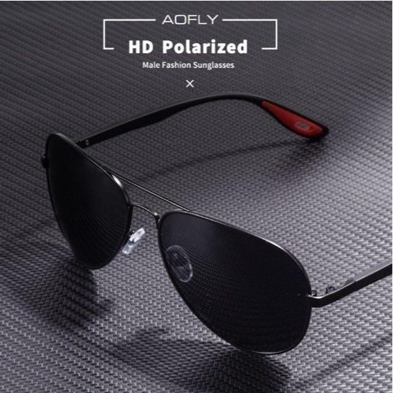 【5color】AOFLY2019新作 偏光 ドライビング クラシック パイロットフレーム メンズサングラス UV400