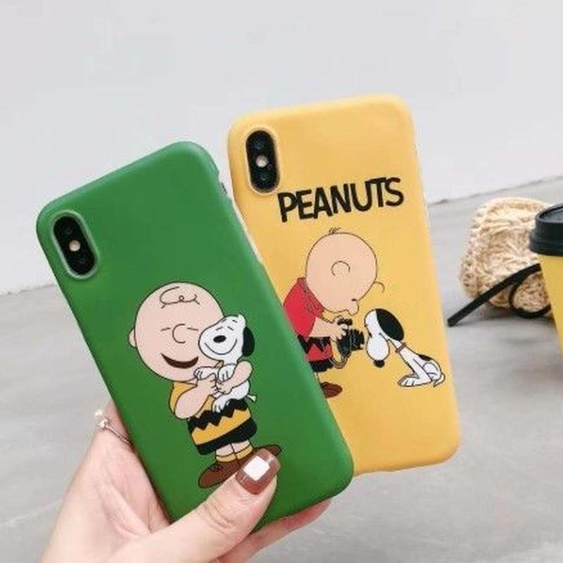 チャーリーブラウン 輸入雑貨 スヌーピー ケータイケース Snoopy ケータイカバー  iphone X  ケース 最大種類 iphone 8 7 6 6 s-plus