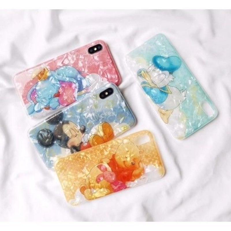 輸入雑貨 ディズニー 可愛い寝顔 シェル iphone XR XsMAX 最大種類 iphone 8 7 6 6 s