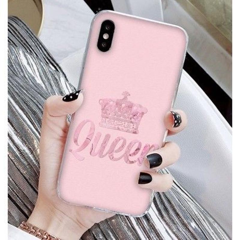 輸入雑貨 Queen ティアラ  iphone XR ケース 最大種類 iphone 8 7 6 6 s-plus スマホケース  ティアラA10