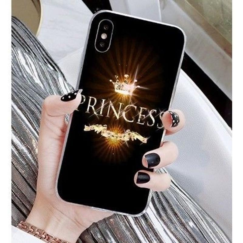 輸入雑貨 Princess ティアラ  iphone XR ケース 最大種類 iphone 8 7 6 6 s-plus スマホケース  ティアラA2