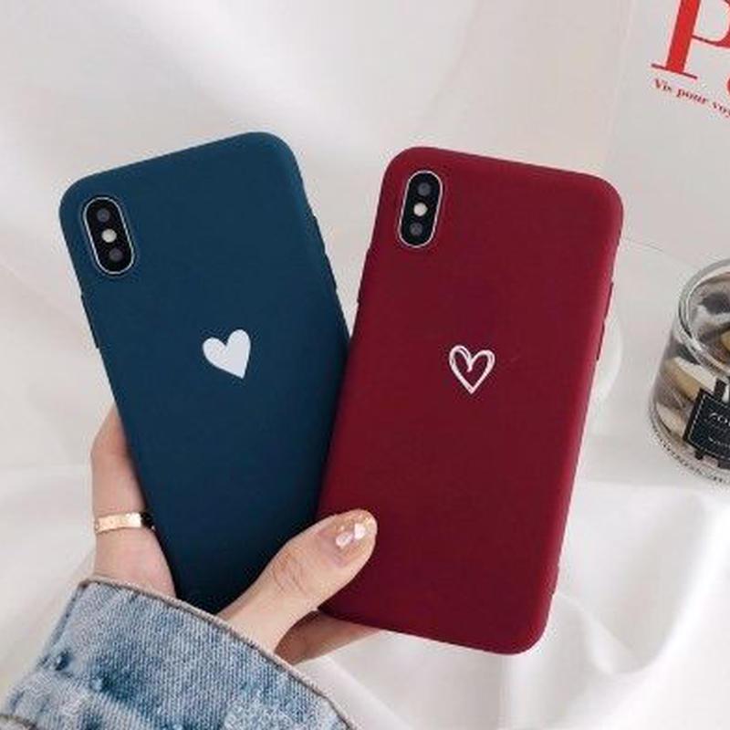輸入雑貨 シンプル ハート ♡  iphone XR ケース 最大種類 iphone 8 7 6 6 s-plus スマホケース