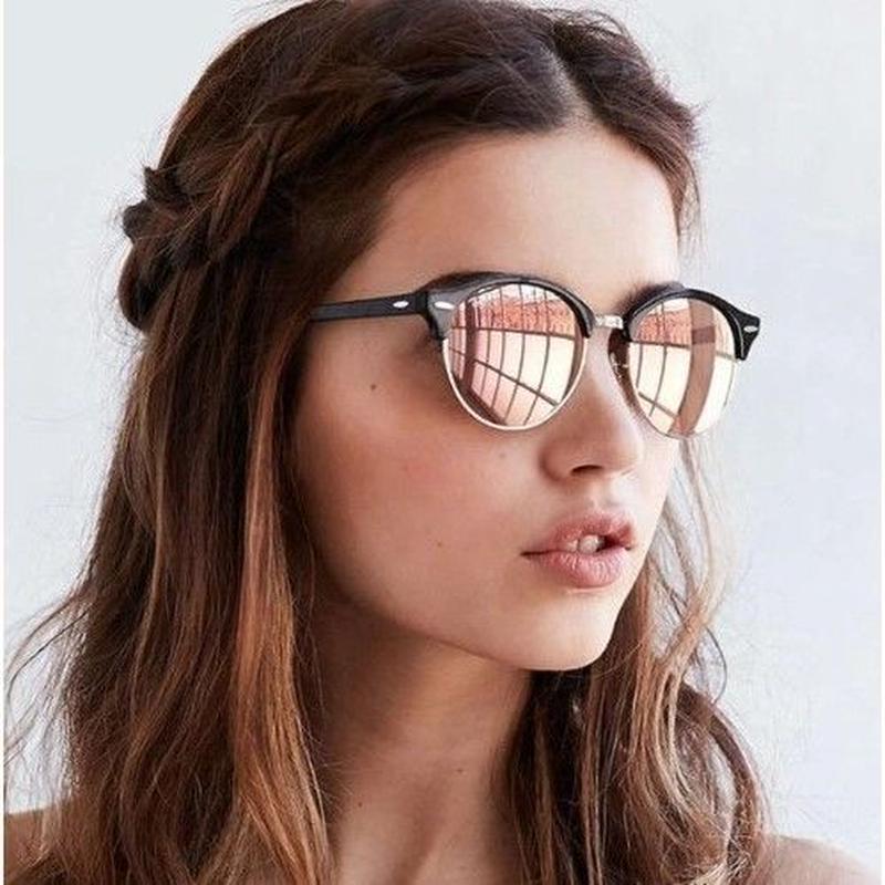 【8color】2019新作 EYECRAFTERS 海外人気ブランド ユニセックス UV400 セミリムレス 眼鏡フレーム