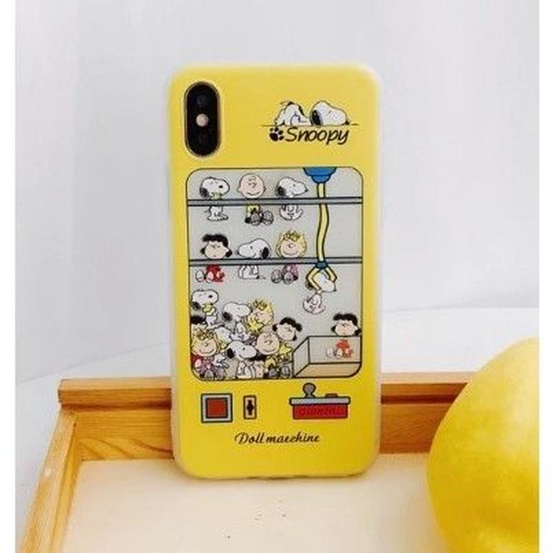 輸入雑貨 スヌーピー ケータイケース Snoopy ケータイカバー  iphone Xs ケース 最大種類 iphone 8 7 6 6 s-plus 2ピーナッツ
