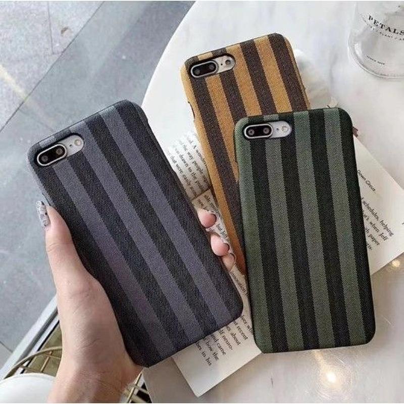 輸入雑貨 シンプル ストライプ iphone XR XsMAX ケース 最大種類 iphone 8 7 6 6 s-plus ストライプ