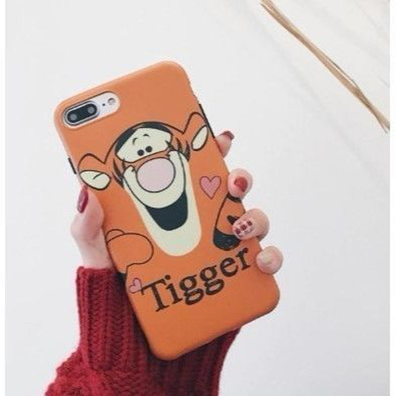 輸入雑貨 ディズニー プーさん ケータイカバー  iphone XR XsMAX 最大種類 iphone 8 7 6 6 s  フレンズ ティガー