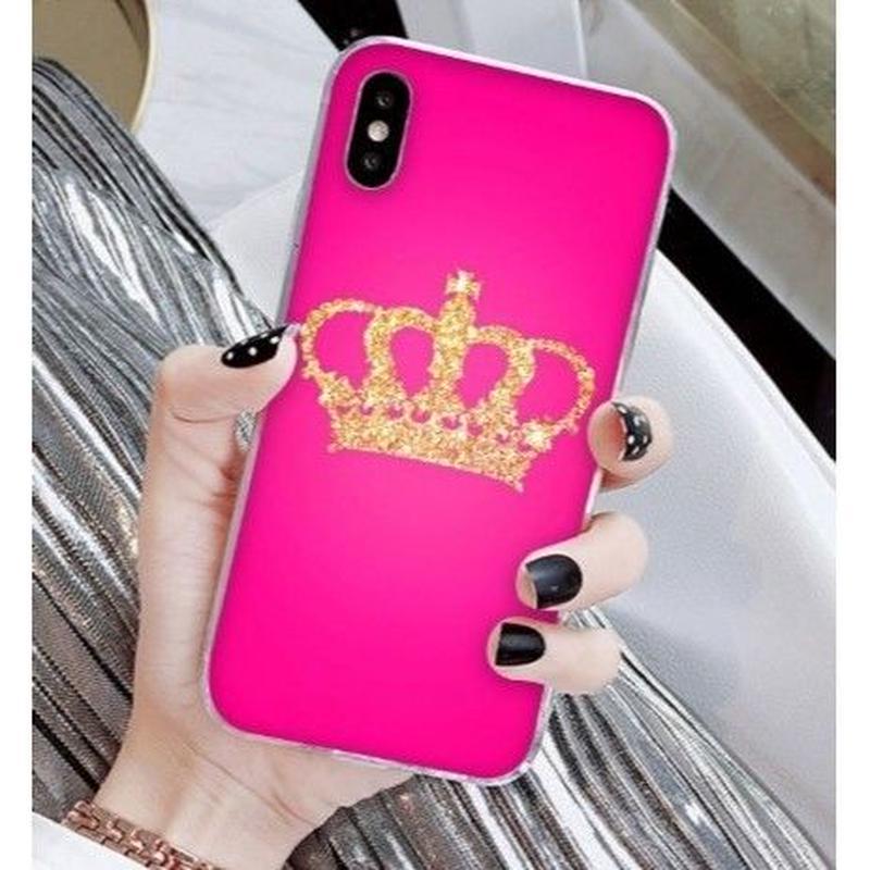 輸入雑貨 Queen ティアラ  iphone XR ケース 最大種類 iphone 8 7 6 6 s-plus スマホケース  ティアラA16