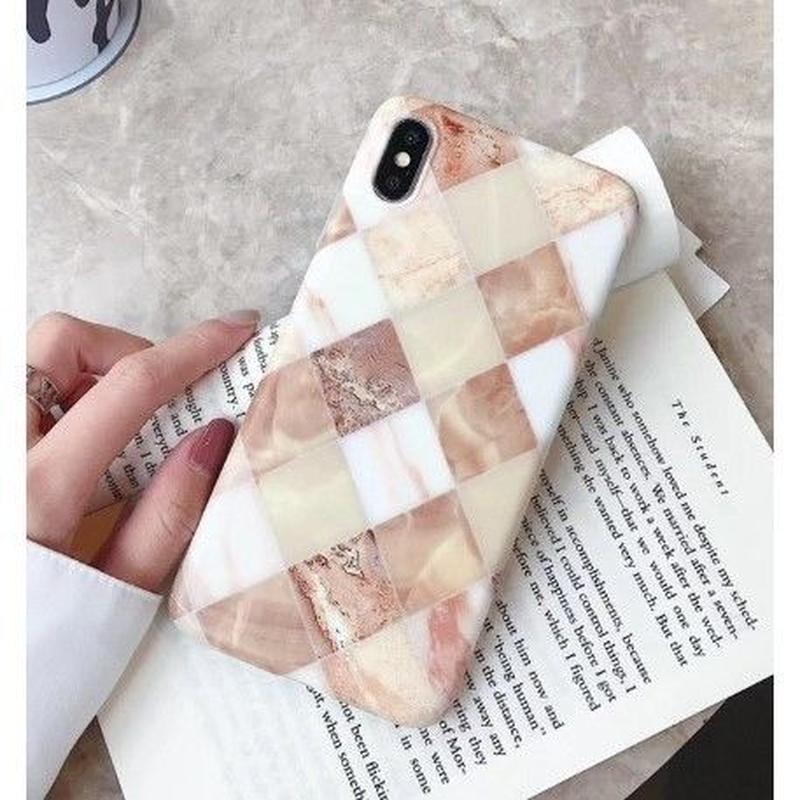 SALE★輸入雑貨 大理石マーブル格子ストーン iphone XR ケース 最大種類 iphone 8 7 6 6 s-plus スマホケース