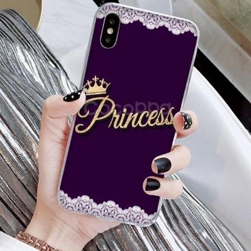 輸入雑貨 Princess ティアラ  iphone XR ケース 最大種類 iphone 8 7 6 6 s-plus スマホケース  ティアラA3