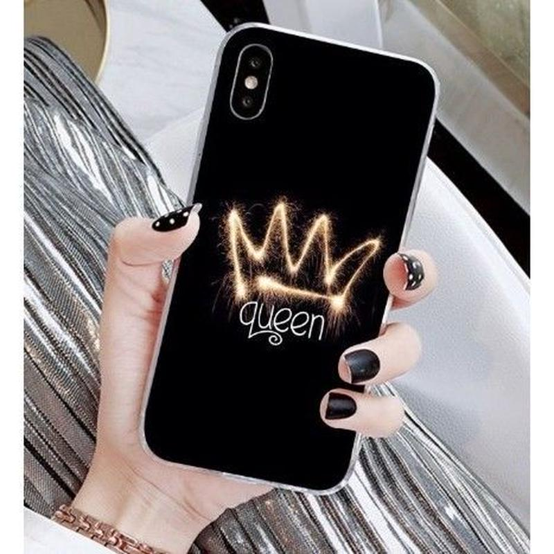 輸入雑貨 Queen ティアラ  iphone XR ケース 最大種類 iphone 8 7 6 6 s-plus スマホケース  ティアラA12