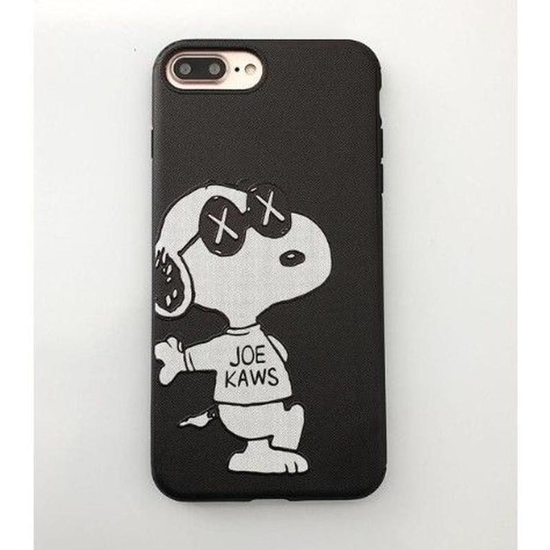 輸入雑貨 スヌーピー ケータイケース Snoopy ケータイカバー  iphone X ケース 最大種類 iphone 8 7 6 6 s-plus 63サングラス