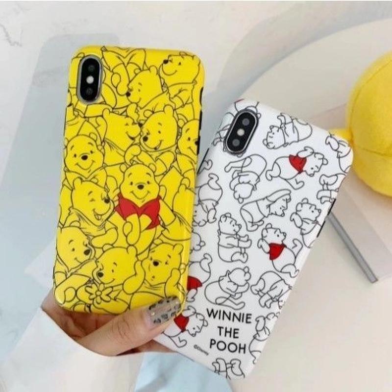 輸入雑貨 ディズニー いっぱいプーさん  iphone XR XsMAX 最大種類 iphone 8 7 6 6 s