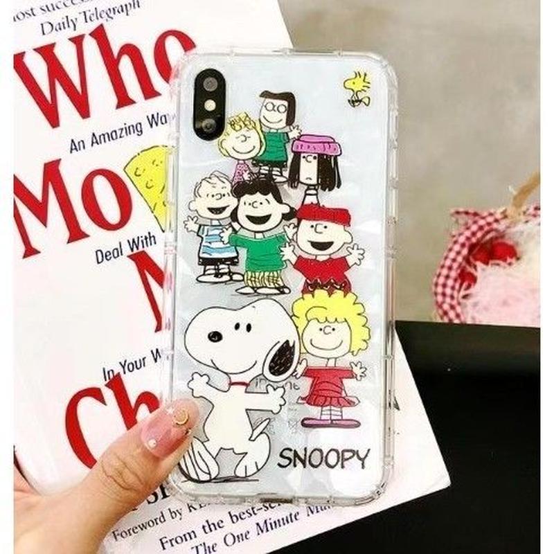 輸入雑貨 スヌーピー ケータイケース snoopy ケータイカバー  iphone X 最大種類 iphone 8 7 6 6 s-plus ダイヤモンド 1