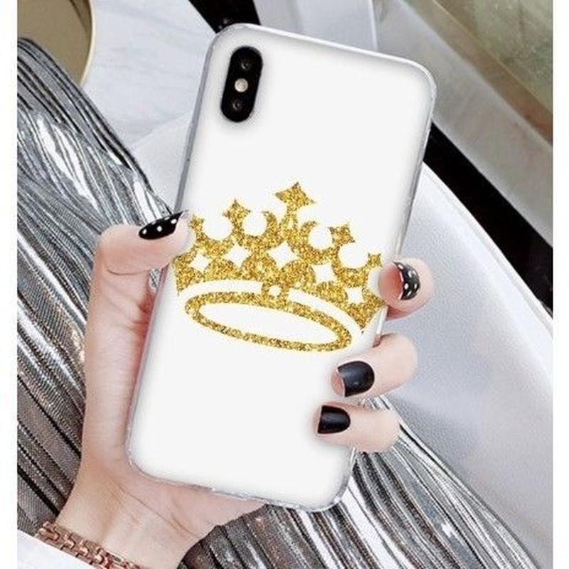 輸入雑貨 Princess ティアラ  iphone XR ケース 最大種類 iphone 8 7 6 6 s-plus スマホケース  ティアラA8