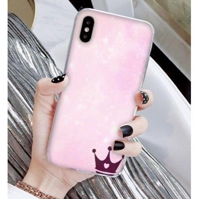 輸入雑貨 Princess ティアラ  iphone XR ケース 最大種類 iphone 8 7 6 6 s-plus スマホケース  ティアラA11