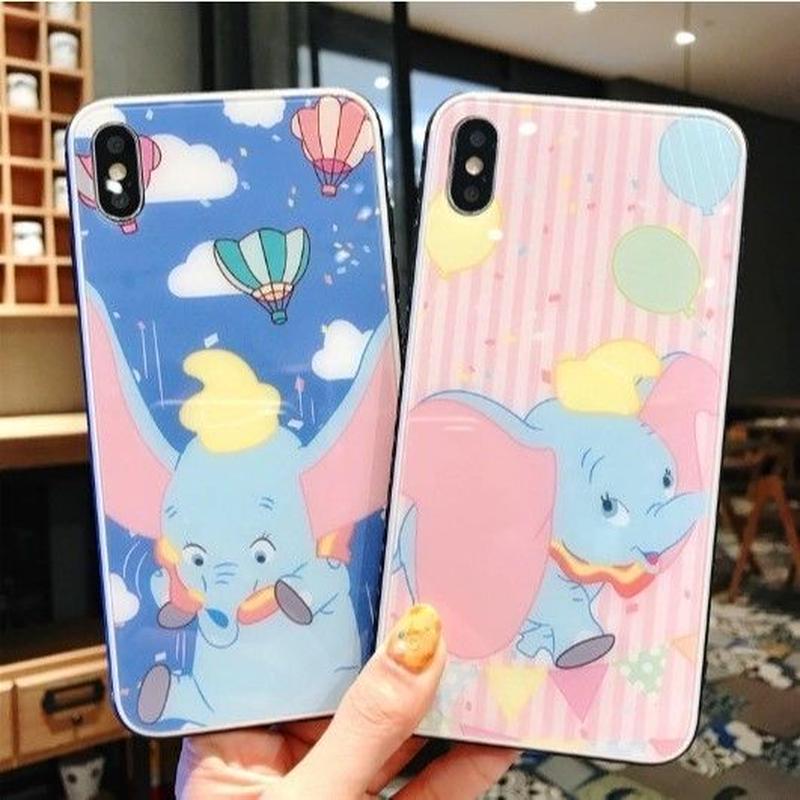 輸入雑貨 ディズニー ベビーカラー ダンボ iphone XR XsMAX 最大種類 iphone 8 7 6 6 s