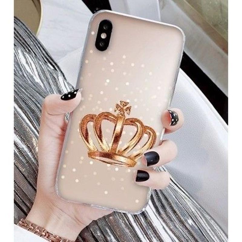 輸入雑貨 Princess ティアラ  iphone XR ケース 最大種類 iphone 8 7 6 6 s-plus スマホケース  ティアラA6