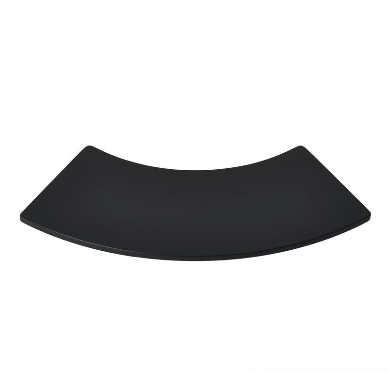 扇のトレイ/黒塗装