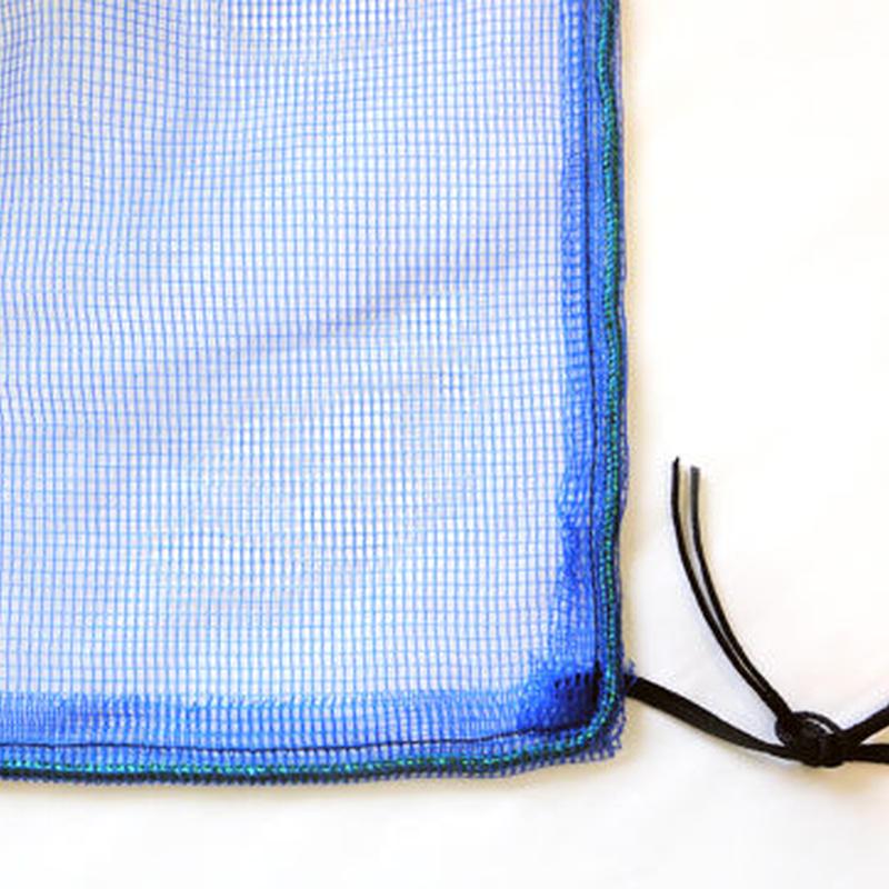 カラスネット ブルー 2×3m