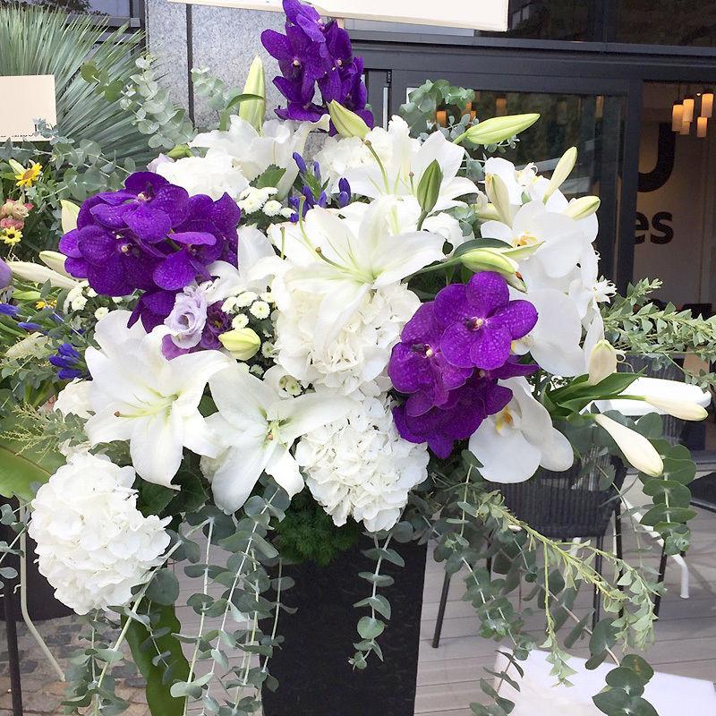 白紫香(スタンド花)