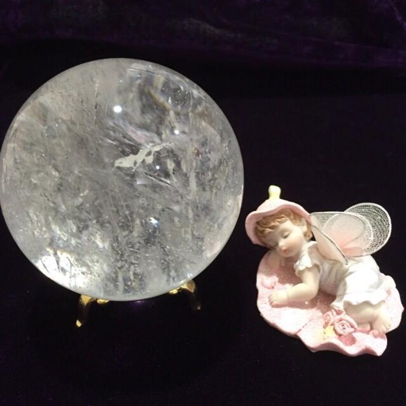 ヒマラヤ水晶 丸玉