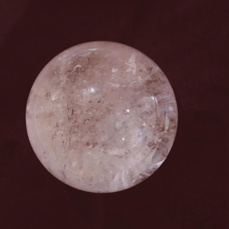 水晶丸玉(ヒマラヤ産)