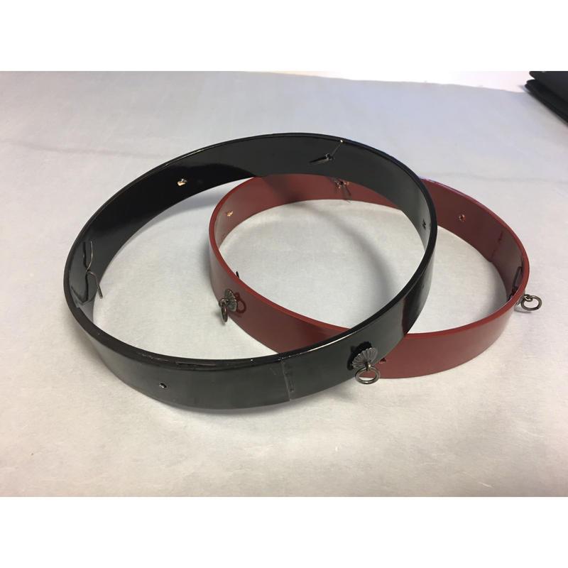 つるし飾り用18cm3本づり用下げ輪(金具付き)(1週間以内に出荷)