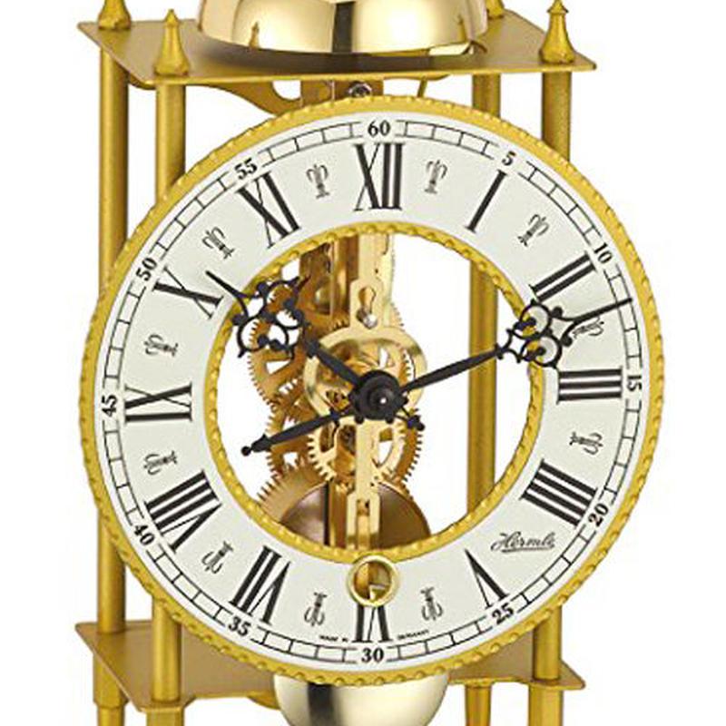 ヘルムレ 時打ち置時計(14日巻き)ゴールド/ゴールド 23004-000711