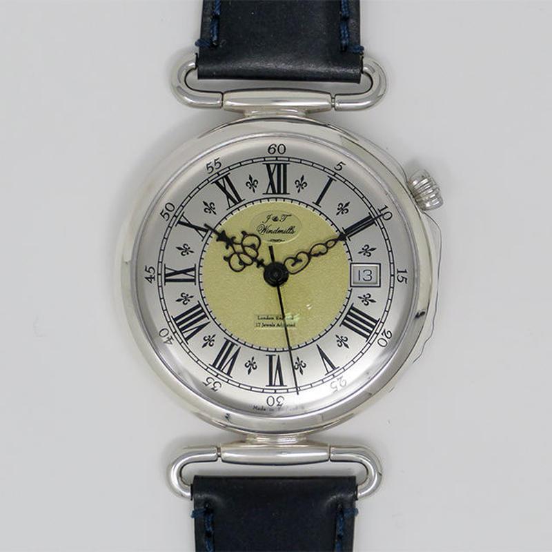 J&Tウィンドミルズ 925Silver 機械式手巻き WGS10002/50