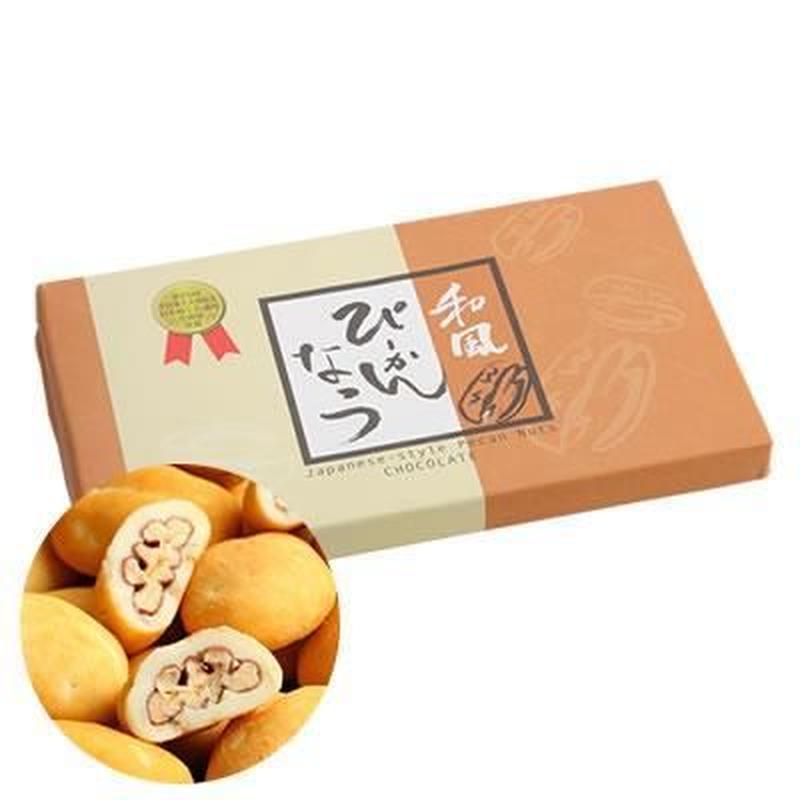和風ぴーかんなっつ(亀山温泉ホテル年間売上No1商品)