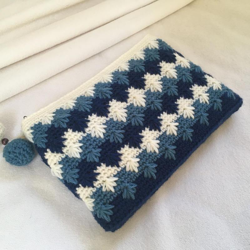 knit  big pouch