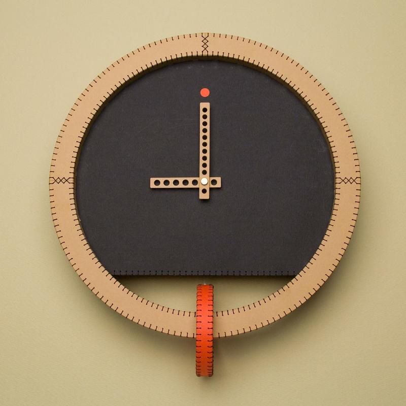 "Paper clock ""ring"""