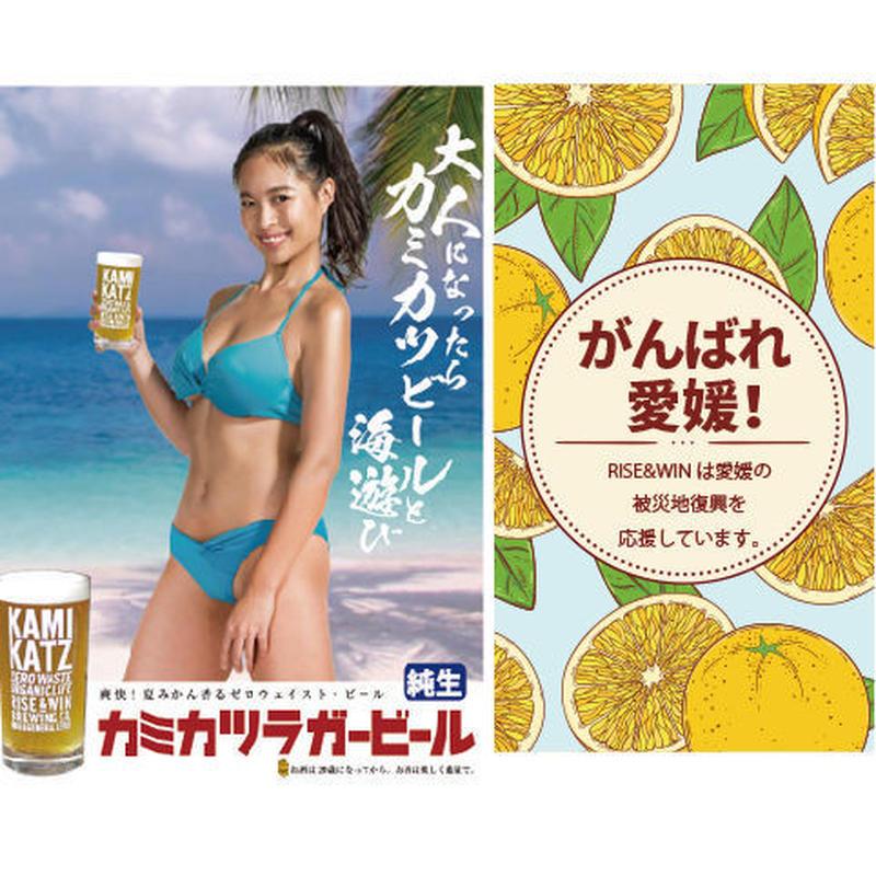 【限定】カミカツラガー 愛媛の甘夏ver.(330mlボトル×3本セット)